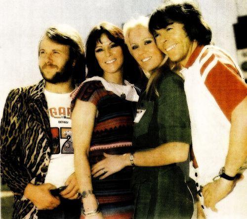 ABBA in Australia 1976.