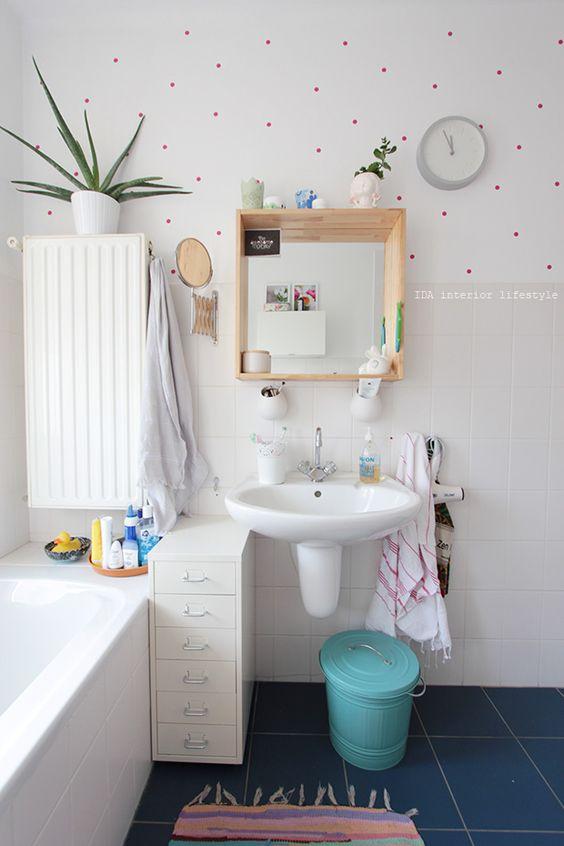 Antes y después de un pequeño baño : via La Garbatella
