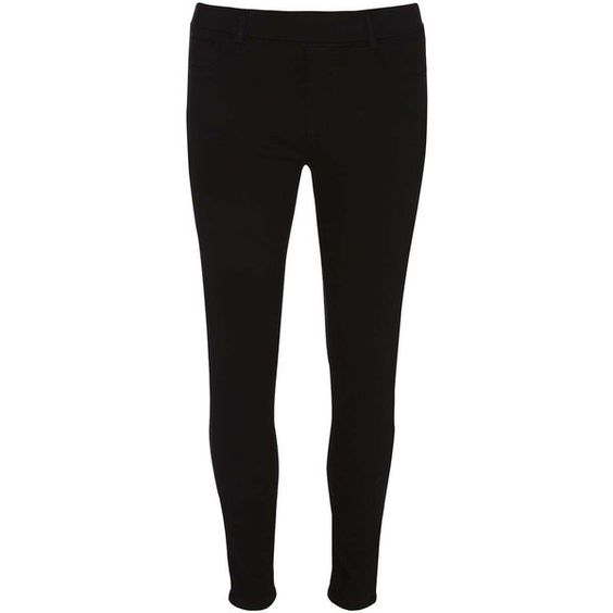 Dorothy Perkins Petite black 'Eden' Ultra Soft Jeggings ($35) ❤ liked on Polyvore featuring pants, leggings, black, petite, petite pants, cotton trousers, petite jeggings, jeggings pants and petite leggings