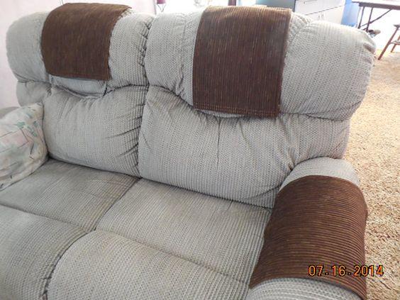 Incroyable Custom Made Chair Headrest U0026 Arm Covers. Available:  Www.StitchnArtbyMichelle.com