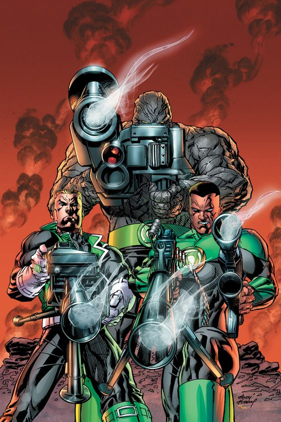 GREEN LANTERN CORPS #6 - It's the stunning conclusion to the war between the Corps and their new nemeses, the Keepers! Now that we know a GL power ring isn't the most effective weapon against them, Guy and John take the battle to the Keepers' front door…without their rings! Not everyone will make it home in one piece.