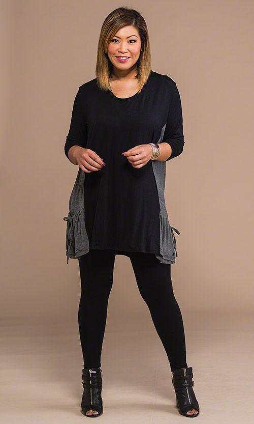 Plus Size Leggings With Pockets