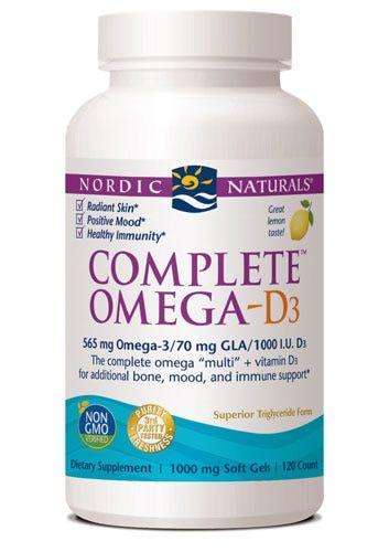 Comprar Nordic Naturals Complete Omega D3 Lemon 1000 Mg 120