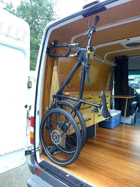 Van Bikes Inside Swing Out Google Search Minivan Camper
