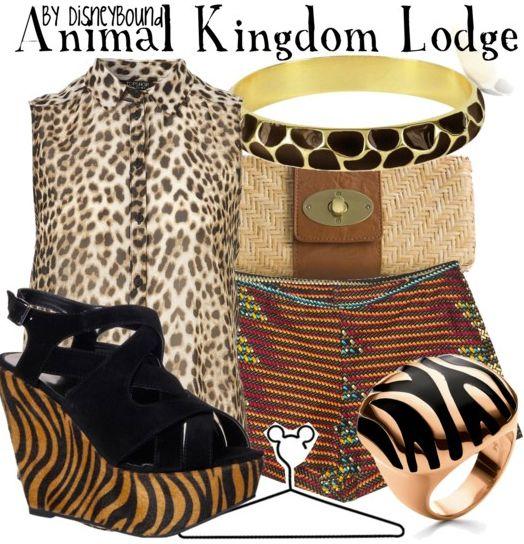 Animal Kingdom Lodge by disneybound