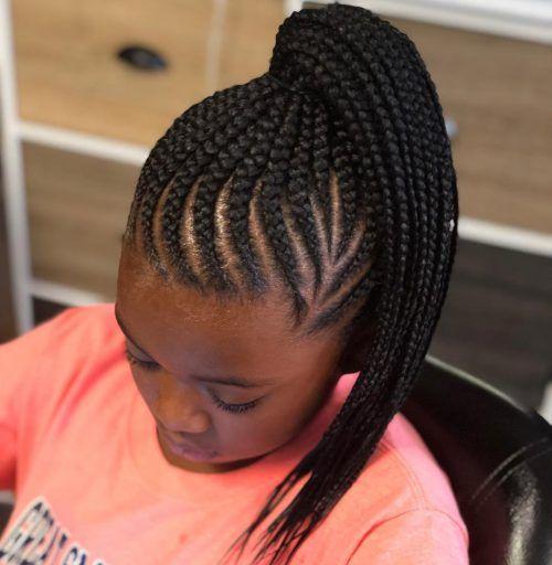 33 Cutest Braids For Short Hair Braided Ponytail Hair Styles Short Braids