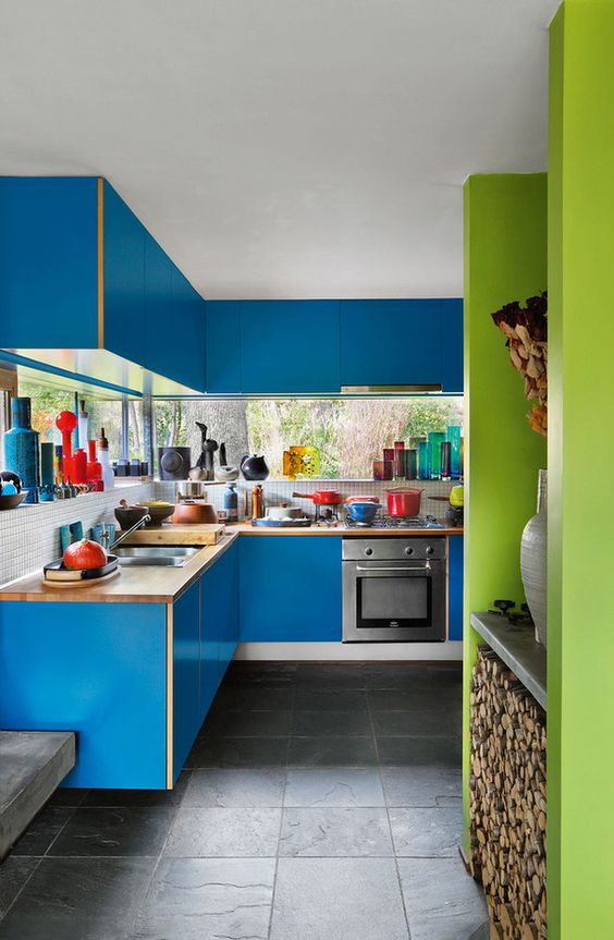 31 Colorful Kitchens That Will Make Your Home Look Fabulous interiors homedecor interiordesign homedecortips