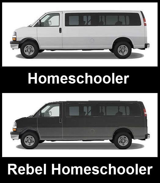 Image result for meme homeschooling white van