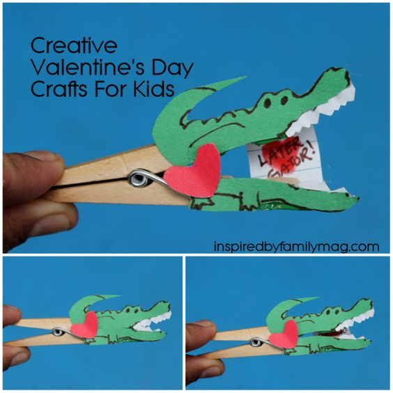creative valentine 39 s day card craft for kids this is fun