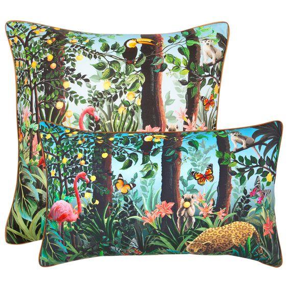 Kissen mit Dschungel   ZARA HOME Deutschland