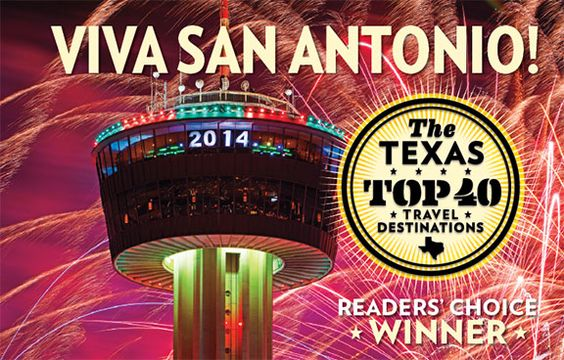 Viva San Antonio! Texas Top 40 Readers' Choice Winner Photo © Jack Smith