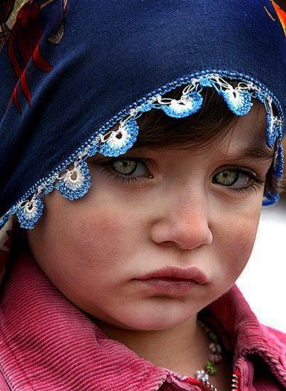 Kurdish girl.: