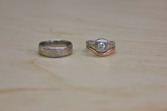 Lauren and Jim: Custom Wedding Bands Made with Love