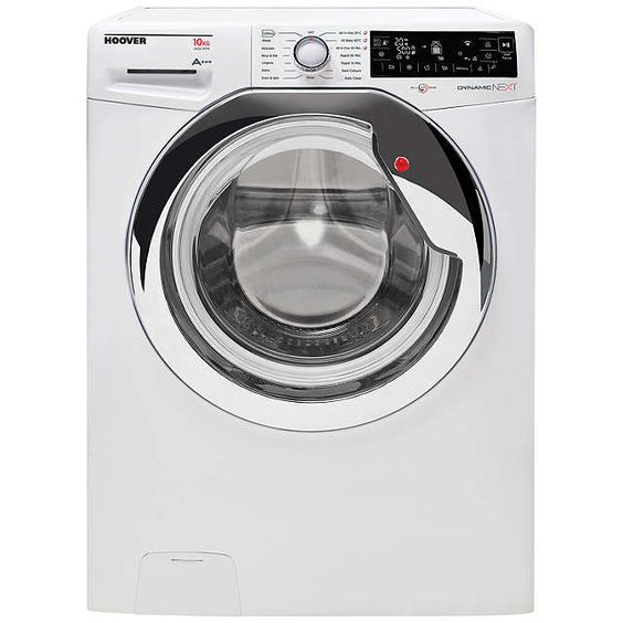 BuyHoover Dynamic Next Premium DXP 410AIW3 Freestanding Washing Machine, 10kg Load, A+++ Energy Rating, 1400rpm Spin, White Online at johnlewis.com