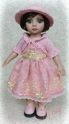 """Spring Party in Pink"" OOAK Ensemble for Tonner Patsy Ann Estelle Iplehouse Bid 