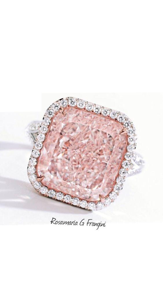 Rosamaria G Frangini | High Pink Jewellery | Pink Diamond Ring