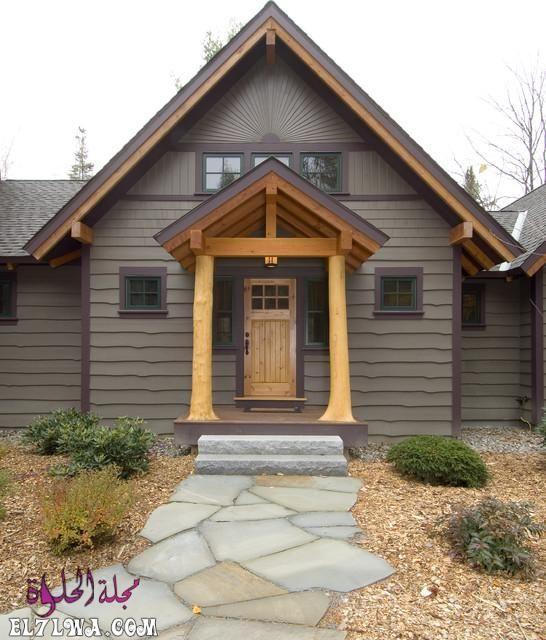 ديكورات مدخل البيت 2021 هي أحد الأمور التي تشغل بال الكثيرين فمدخل البيت هو العنوان والذي يعكس رقي البيت لضيوفك لهذا ي Rustic Entry Entry Design House Entrance