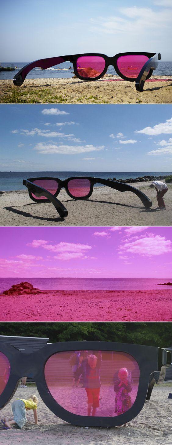 Poliart Polistirolo, Polistirene HD - Marc Moser, Sea Pink Installation