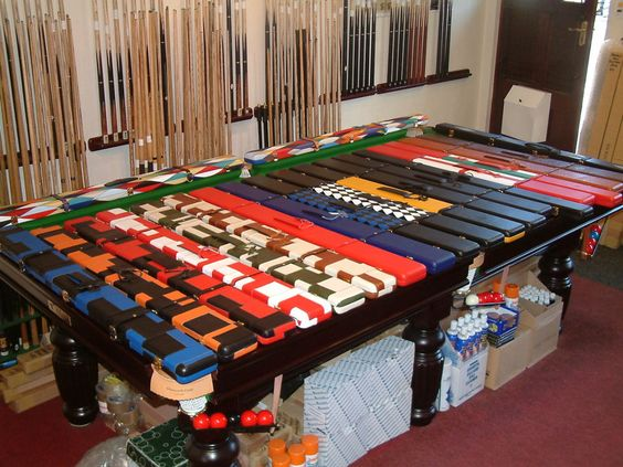 cue sport snooker pouch - Google Search
