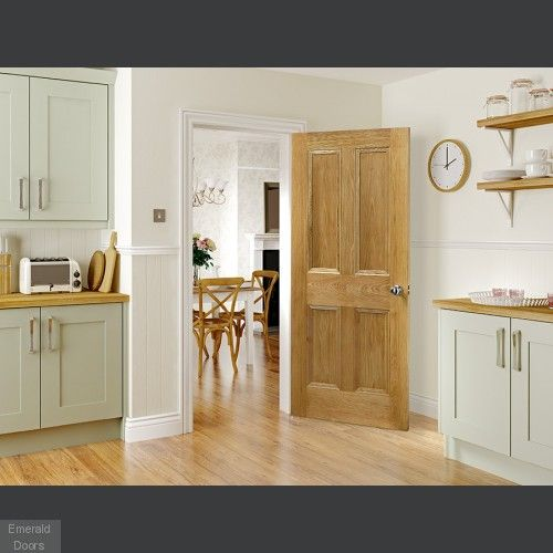 Kingston Oak Fire Door Internal Unfinished Kingston Oak Fire Door Flat Panel Door Design With Inset Beading Also Available As A Sta Fire Doors Oak Fire Doors
