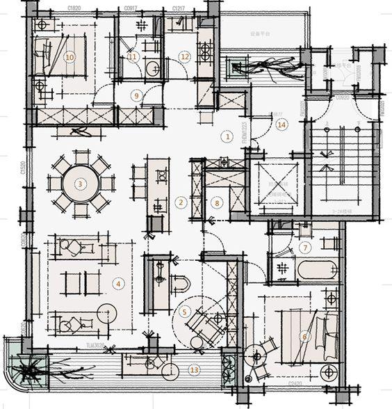 274 best Scheme images on Pinterest Floor plans, Hotel bedrooms - best of blueprint detail crossword clue