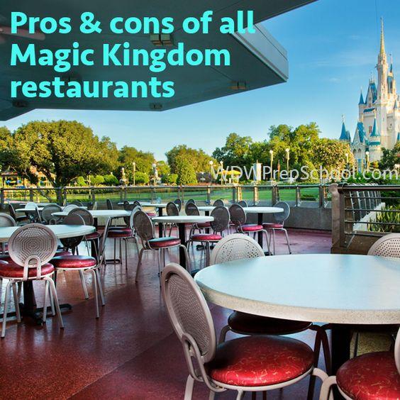Magic kingdom epcot and restaurant on pinterest - Best table service restaurants at disney world ...
