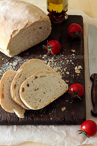 Pane Toscano - Tuscan Bread. #italianbread #tuscanbread #italiancooking | donpepino.com