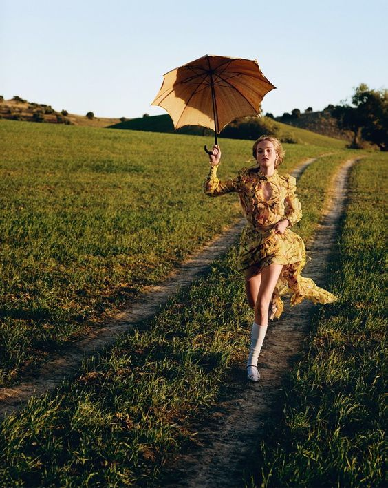 country life: jean campbell by alasdair mclellan for uk vogue march 2016 | visual optimism; fashion editorials, shows, campaigns & more!