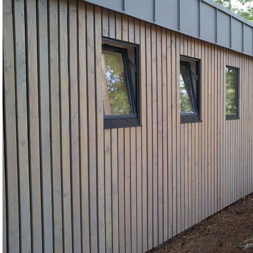 Bardage Claire Voie Vertical Section 20 X 70 Mm Choix 1 Bardage Bardage Bois Exterieur Bardage Bois Vertical