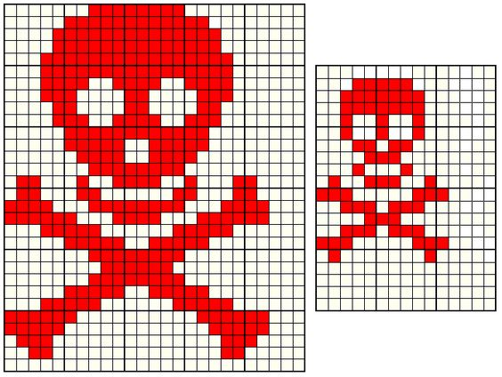 Free Graph Paper Patterns Goth Knitting Minecraft Pinterest Stitches,...