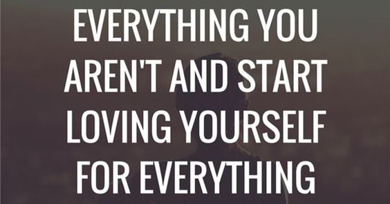 Inspirational Quotes: Stop hating yourself for everything you aren't and start loving yourself for everything you already are.  Follow: https://www…   Pinteres…