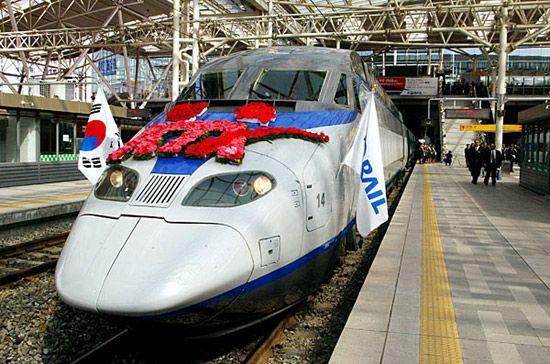 Tàu cao tốc ở Hàn Quốc