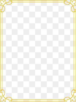 Gold Pattern Frame Frame Clipart Golden Frame Png And Vector With Transparent Background For Free Download Vintage Kaarten Kaarten Achtergronden