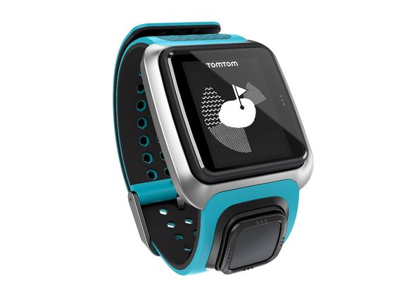 TomTom GPS Golfuhr Golfer meerblau/himmelblau: TomTom: Amazon.de: Sport & Freizeit