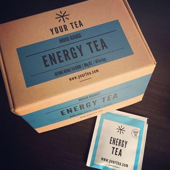 That's what i need! #glutenfree #yourtea #natural #energytea