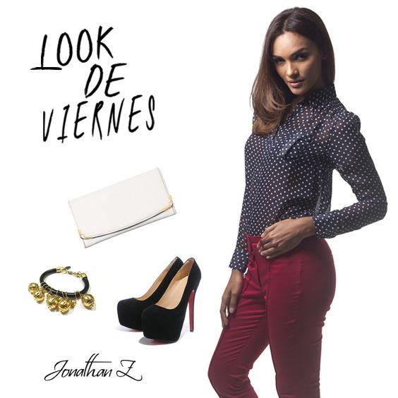 Estilo y sensualidad es lo que irradiaras con esta blusa #JonathanZPR. #Blouse #PuertoRico #Fashion #LookDeViernes #PR