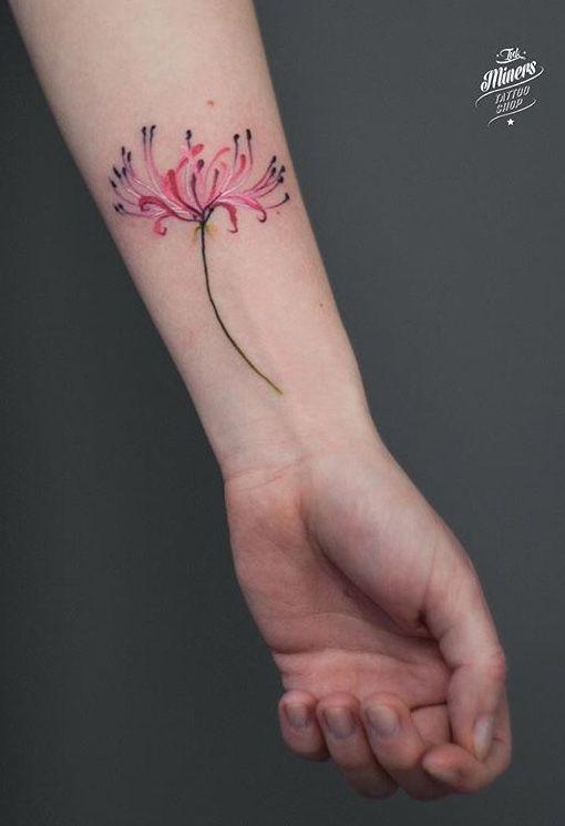 Magdalena Bujak Flower Tattoo Tattoos Flower Tattoo Flower Tattoos