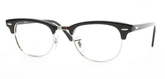 Ray Ban Eyeglasses Black And Gold