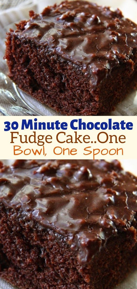 30 Minute Chocolate Fudge Cake One Bowl One Spoon In 2020 Chocolate Fudge Cake Chocolate Fudge Cake Recipe Buttermilk Chocolate Cake