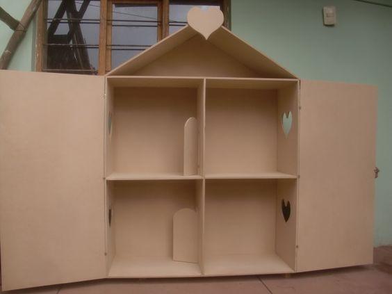 Decoraciones manualidades en madera como hacer una casa - Decoraciones de hogar ...