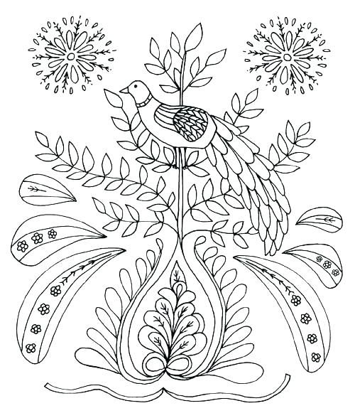 mexican folk art coloring pages new