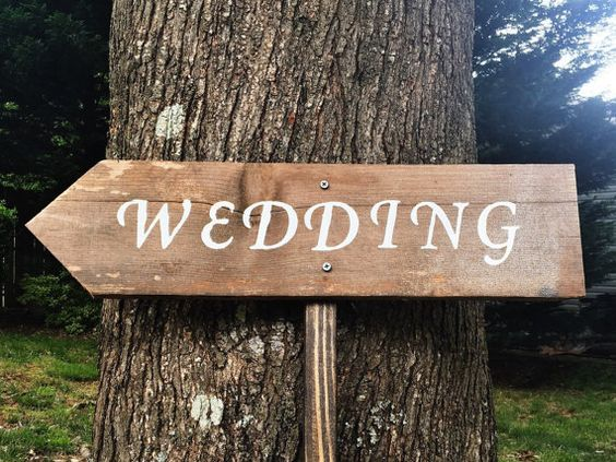 Timelessly beautiful hand painted signs for your next big event! All of my signs are made from true reclaimed barn wood from an old