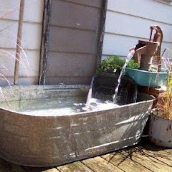 Pump, Courtyards And Fish Ponds On Pinterest