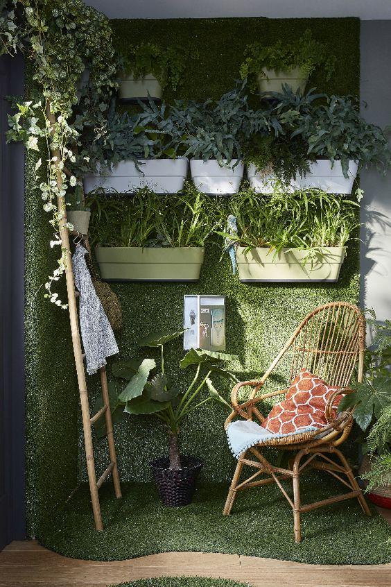 Toutes Les Photos De La Tendance Nature Vegetale Decoration Chambre Bebe Gazon Decor De La Porte Dentree