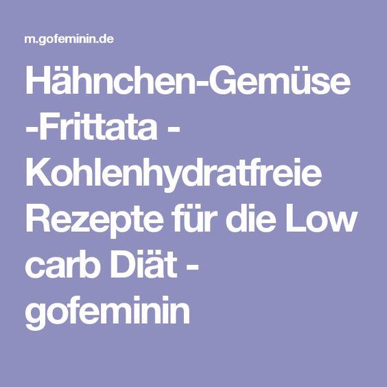 Hähnchen-Gemüse-Frittata - Kohlenhydratfreie Rezepte für die Low carb Diät - gofeminin