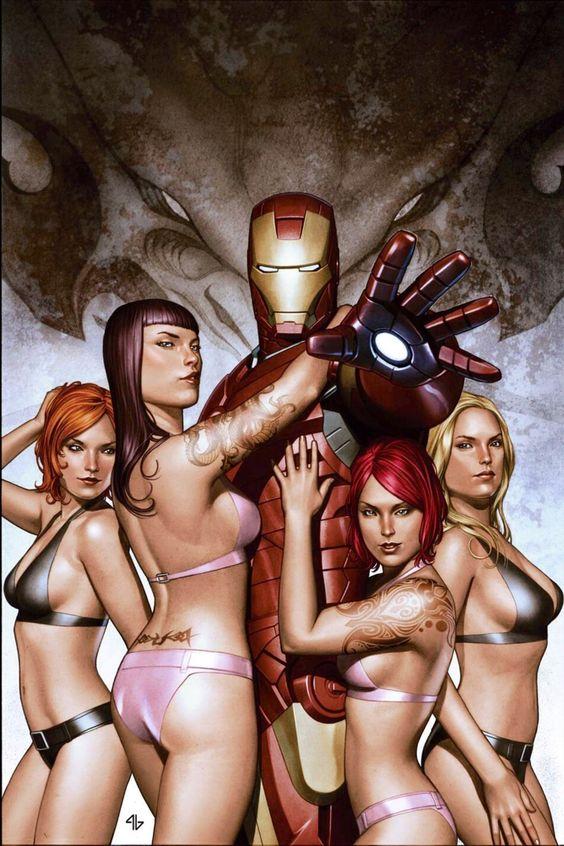 Iron Man •Adi Granov