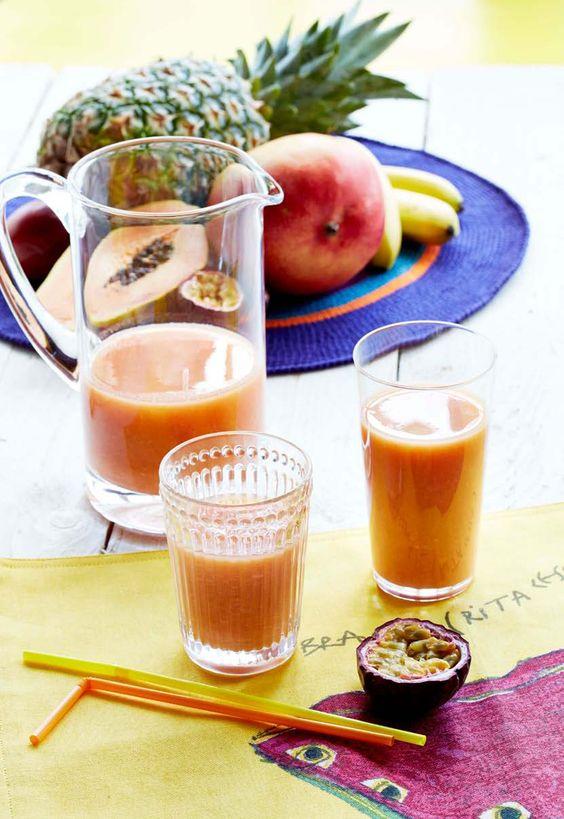Idée recette Brésilienne : le smoothie à la guarana