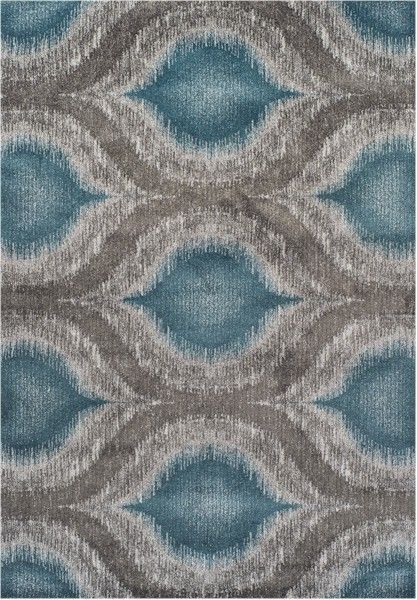 Dalyn Modern Greys MG4441 Teal Area Rug