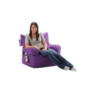 Comfort Research Big Joe Dorm Chair with Smart Max Fabric Lime-anade