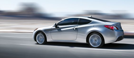 Hyundai Genesis Sport Coupe. Sporty and classy, love it!